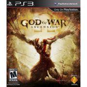 Jogo GOD OF WAR Ascension - Favoritos - PS3