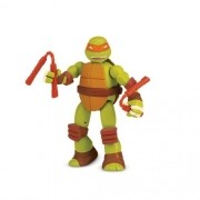 Boneco Tartarugas Ninja Figuras Mutantes Michelangelo Multikids BR414