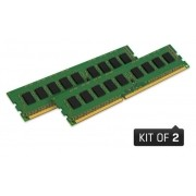 Memoria Desktop DDR3 Kingston KVR16LN11K2/16 16GB KIT(2X8GB) 1600MHZ CL11 DIMM 1.35V