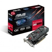Placa de Video ASUS Radeon RX 560 2GB OC Edition DDR5 128 BITS -  RX560-O2G