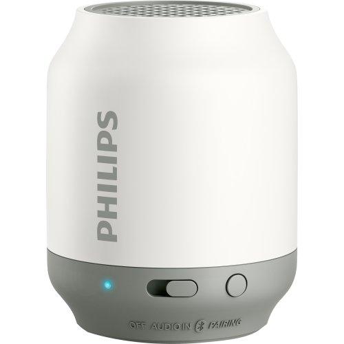 Caixa Multimidia 2W Bluetooth BT50WX / 78 Branca e Cinza Philips