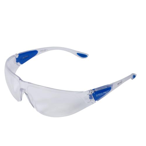 Óculos Steelpro Runner Incolor Com Ca