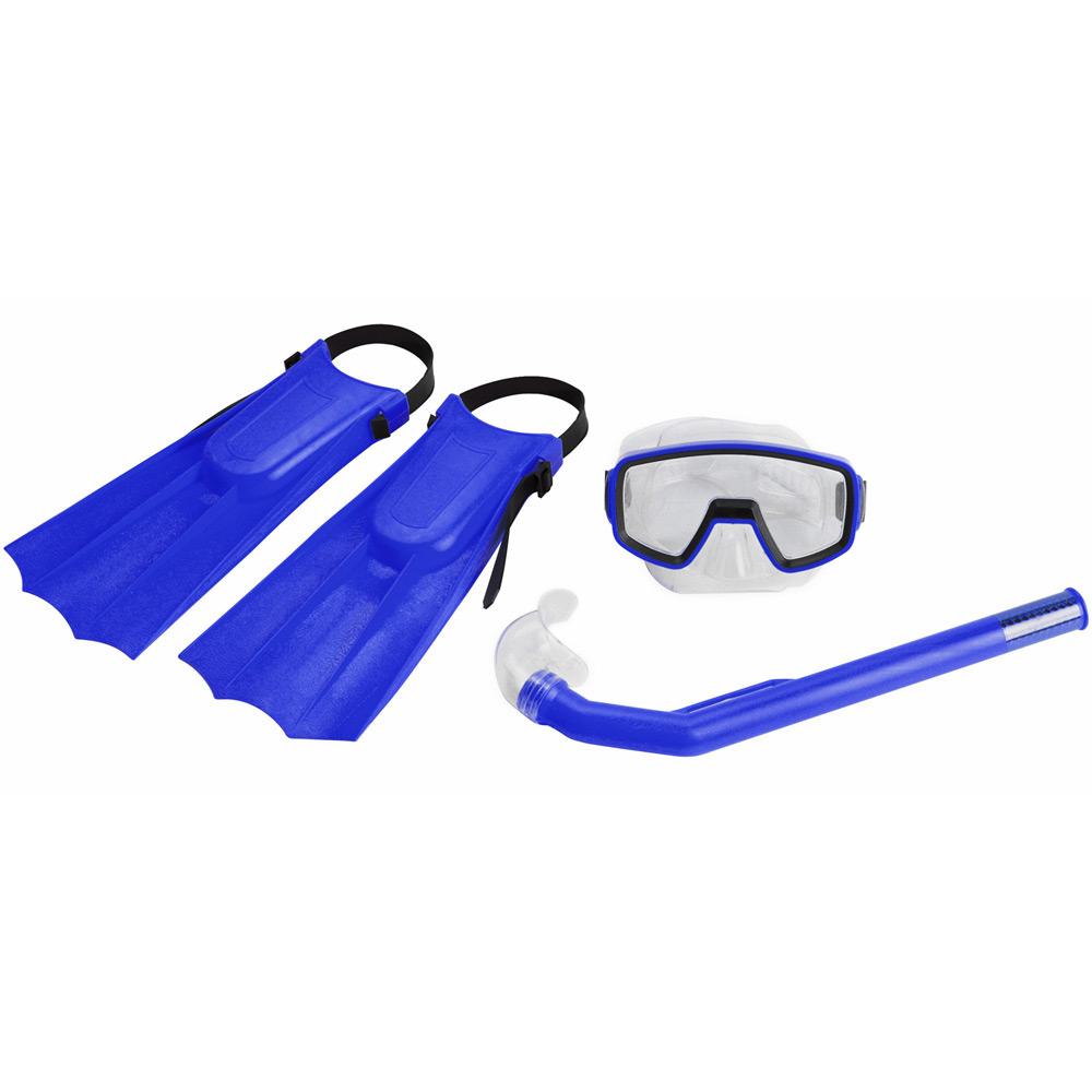 Conjunto Para Mergulho Kit Pacific Azul Nautika