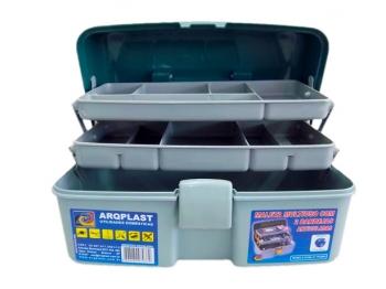 Caixa Maleta Organizadora Multiuso Pesca Ferramentas Arqplast