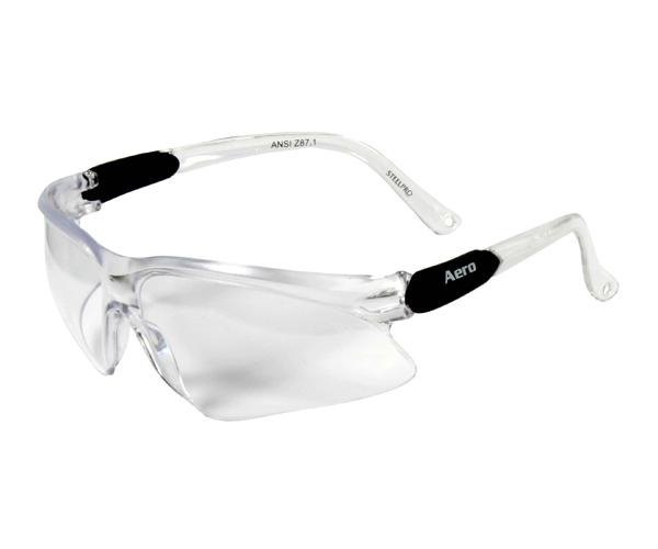 Óculos Steelpro Aero Lente Incolor Com Ca