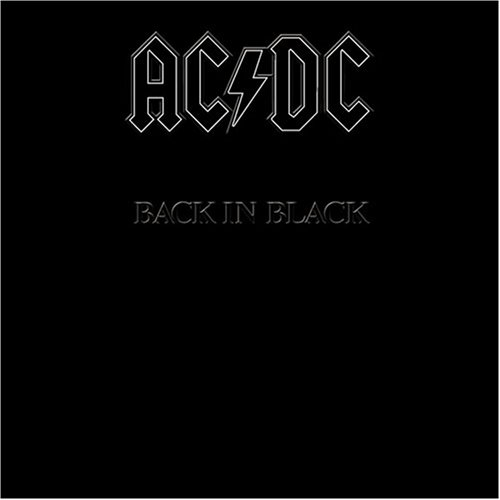 LP AC/DC Back In Black 180g