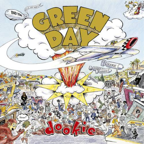 Lp Green Day Dookie USA 2008