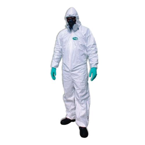 Roupa Proteção Contra Riscos Químicos Super Safety Branco