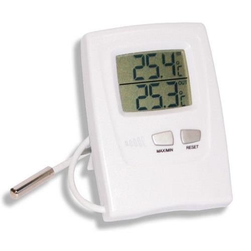 Termômetro Digital Temperatura Max-Min Interno/Externo Cabo 2,30Mts -50 +70:0,1 Refrigeração