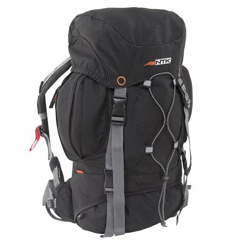 Mochila Cargueira Camping Everest 35 Litros Preto Nautika