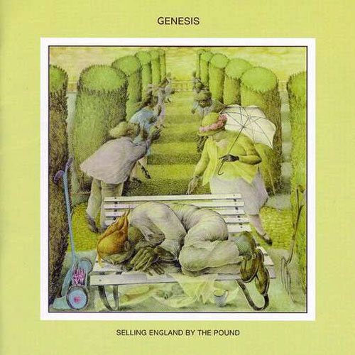 Lp Genesis Selling England By The Pound 180g