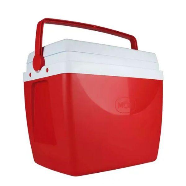 Caixa Térmica 26 Litros Vermelha Mor