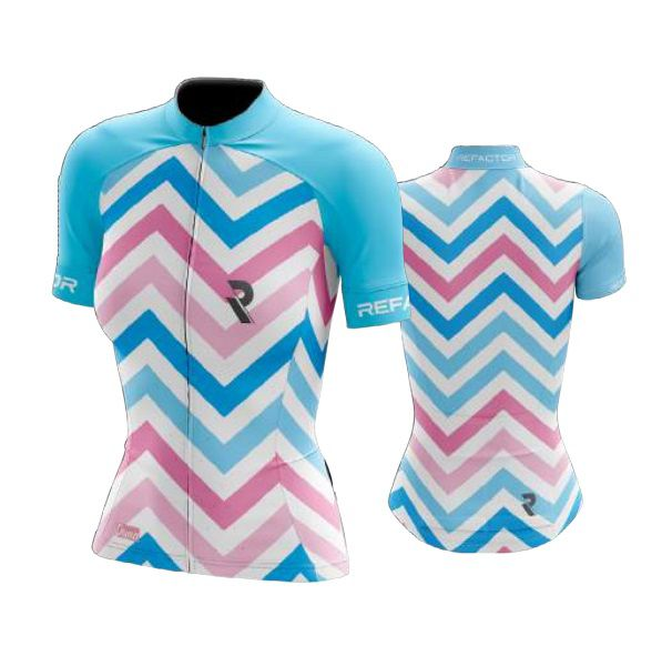 Camisa Ciclismo Feminina Duna Refactor Proteção UV +50 FPS Branca