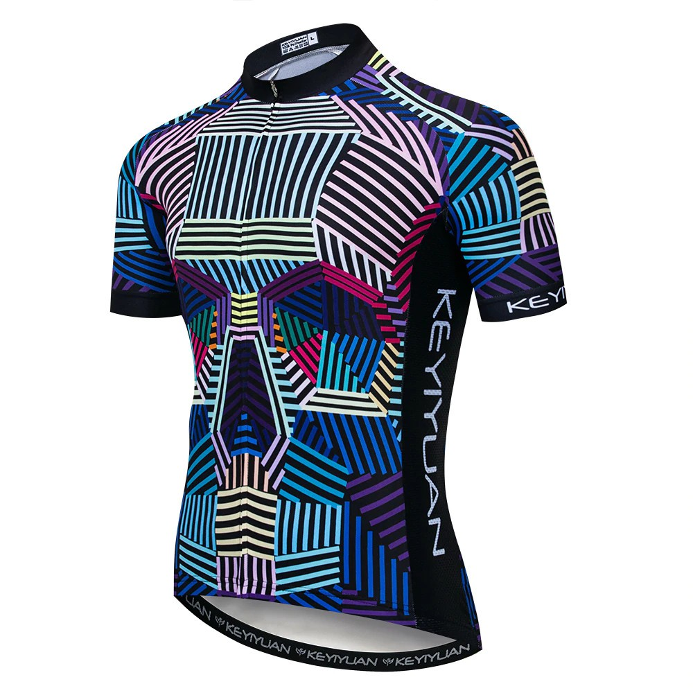 Camisa Ciclismo Roupa de Ciclista Mtb Bike Masculina Key