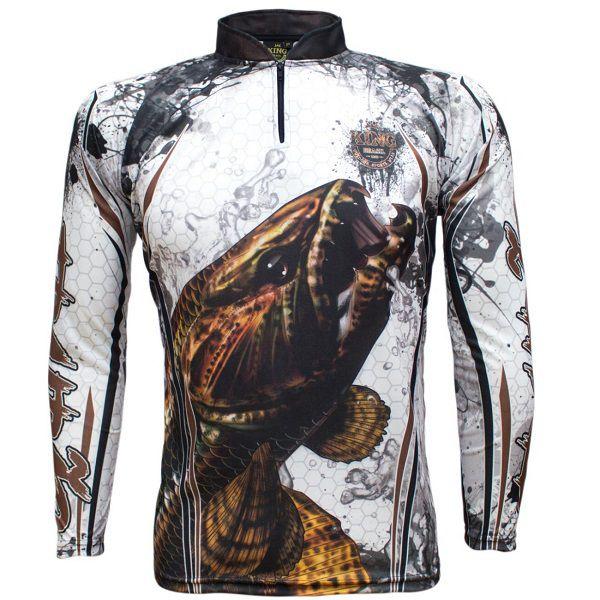 Camisa De Pesca King Brasil KFF300