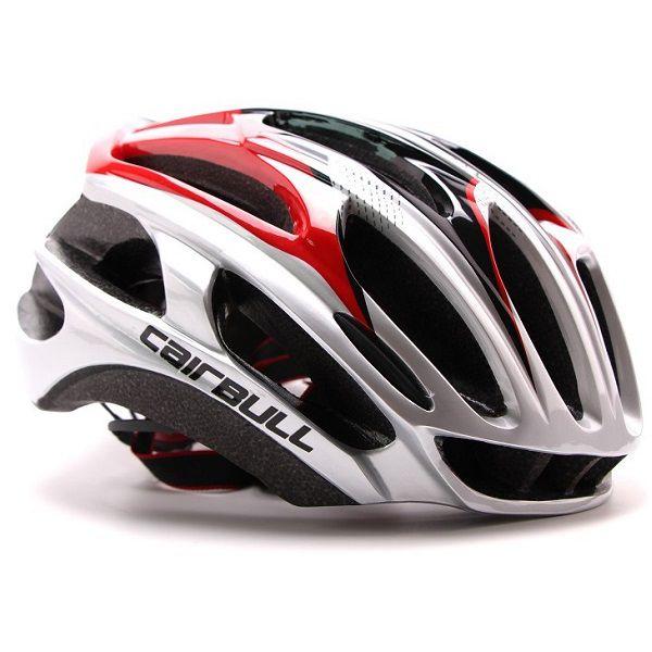 Capacete Ciclismo MTB Bike Mold Cairbull 58-62 Cinza/Vermelho