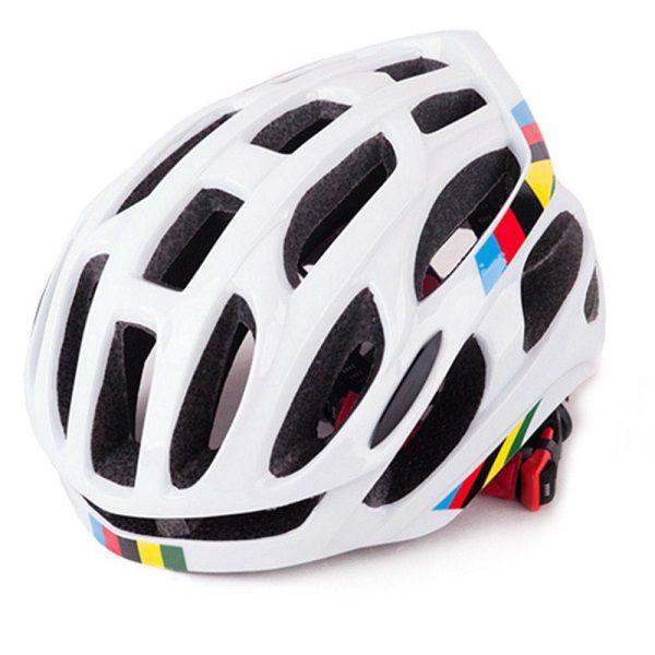 acddb1daa Capacete Ciclismo MTB Bike Road 52-58 Branco
