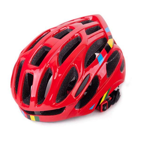 Capacete Ciclismo MTB Bike Road 52-58 Vermelho