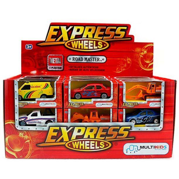 Carrinho Express Wheels Road Master Multikids - BR192