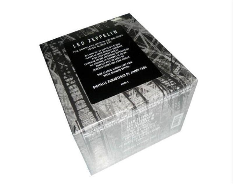 Cd Box Led Zeppelin The Complete Studio 10 Cds