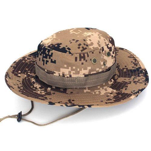 Chapéu Tático Boonie Camuflado Selva 691