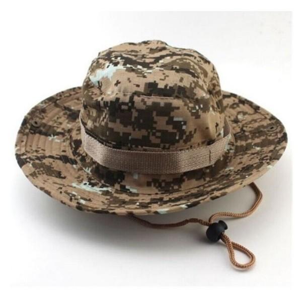 Chapéu Tático Boonie Camuflado Selva 694