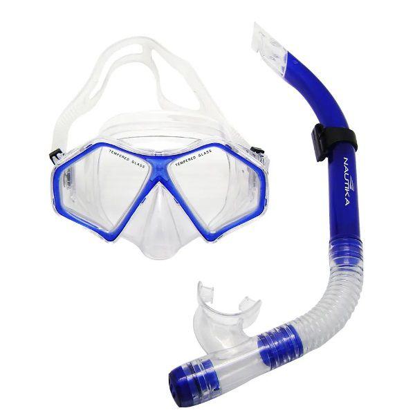 Conjunto Para Mergulho Kit Spider Nautika