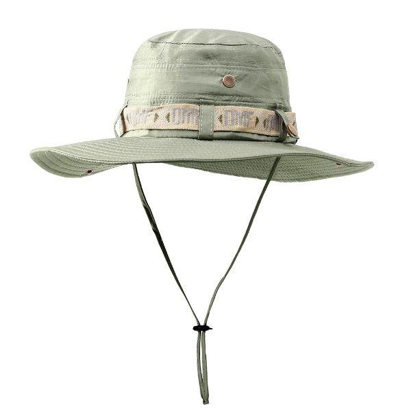 Chapéu Tático Militar Boonie DMF Camping Caça Pesca Cáqui  - Casafaz