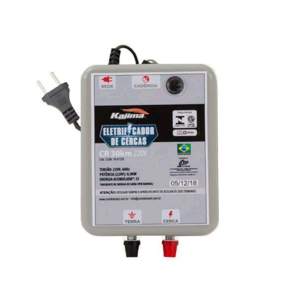 Eletrificador Rural Cerca Elétrica Kajima CR 30Km 220V