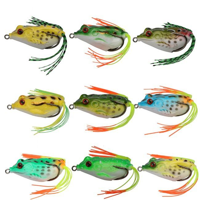 Isca Artificial Shake Frog Lure Sapo 5,5cm 12,5g Cores