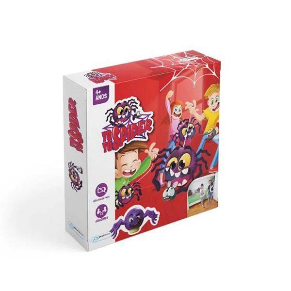 Jogo Spider YoYo Para 2 Jogadores Com 10 Discos Multikids - BR409