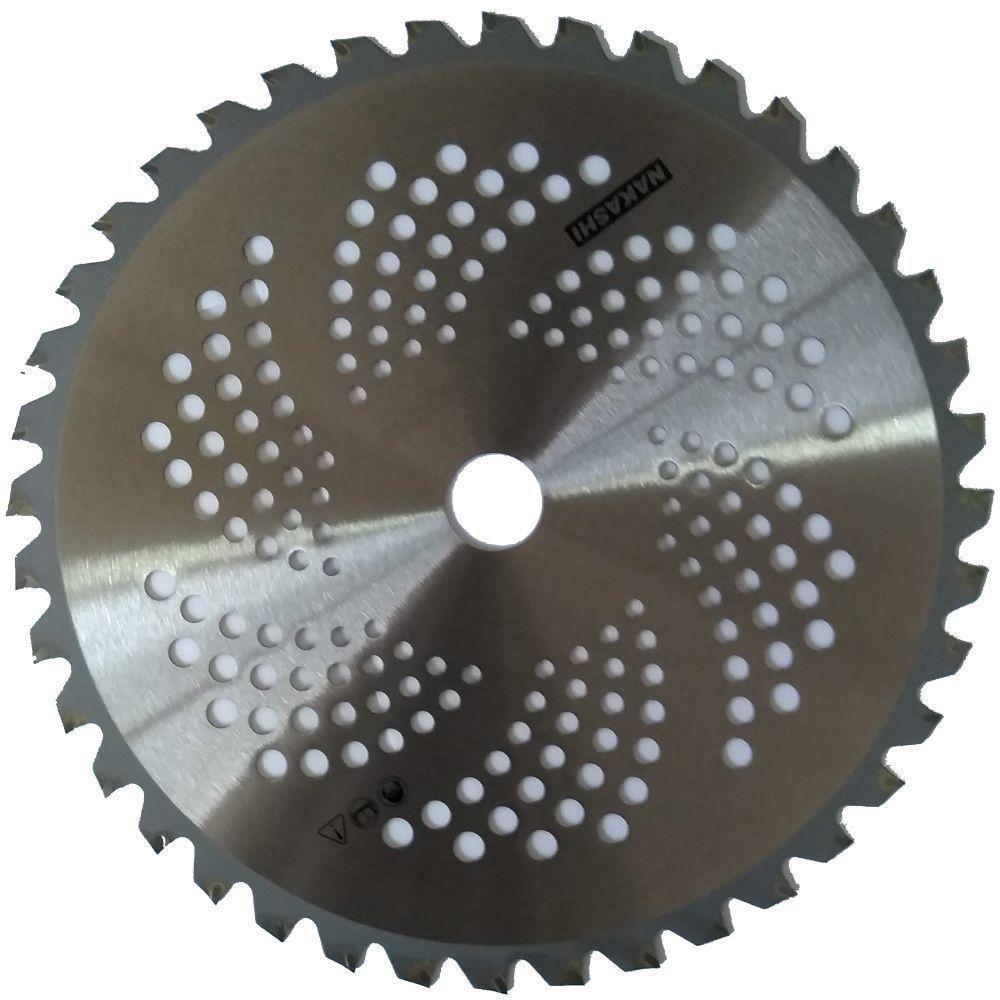 Lamina Serra Circular Roçadeira 40 Dentes 255mm X 1,4mm Furo 1
