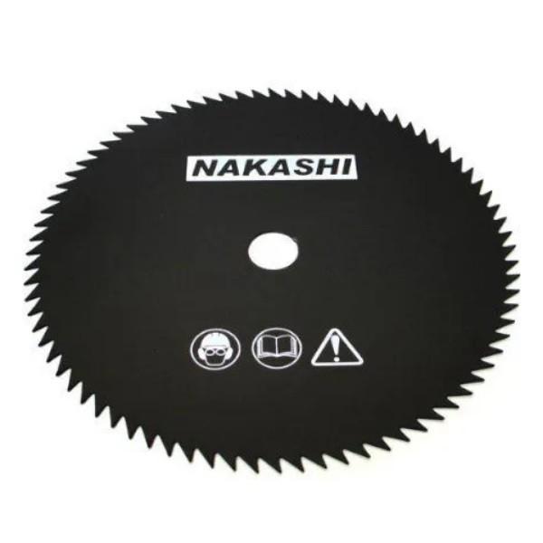 Lamina Serra Circular Roçadeira 80 Dentes 255mm X 1,5mm Furo 1