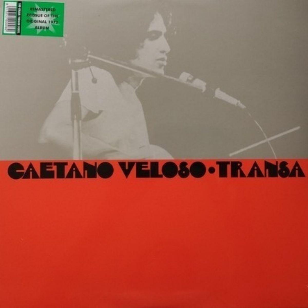 Lp Caetano Veloso Transa Novo Lacrado 180g
