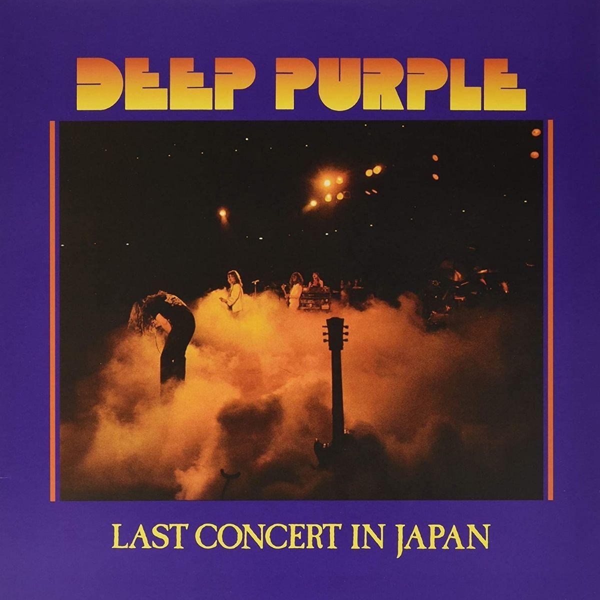 Lp Deep Purple Last Concert In Japan Vinil Roxo