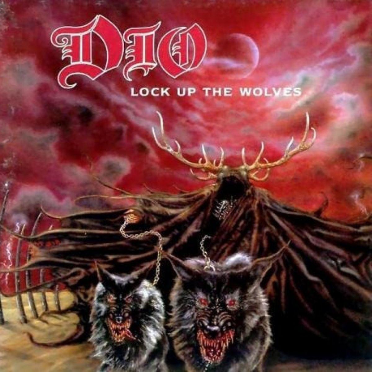 Lp Dio Lock Up The Wolves Vinil Cinza Lacrado