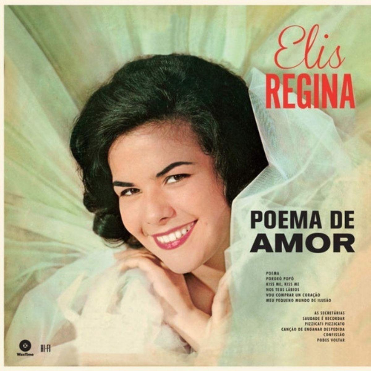 Lp Elis Regina Poema De Amor 180gr Novo Lacrado