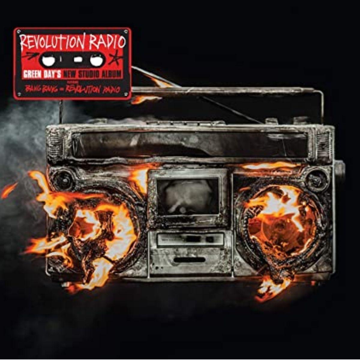 Lp Green Day Revolution Radio Importado Lacrado