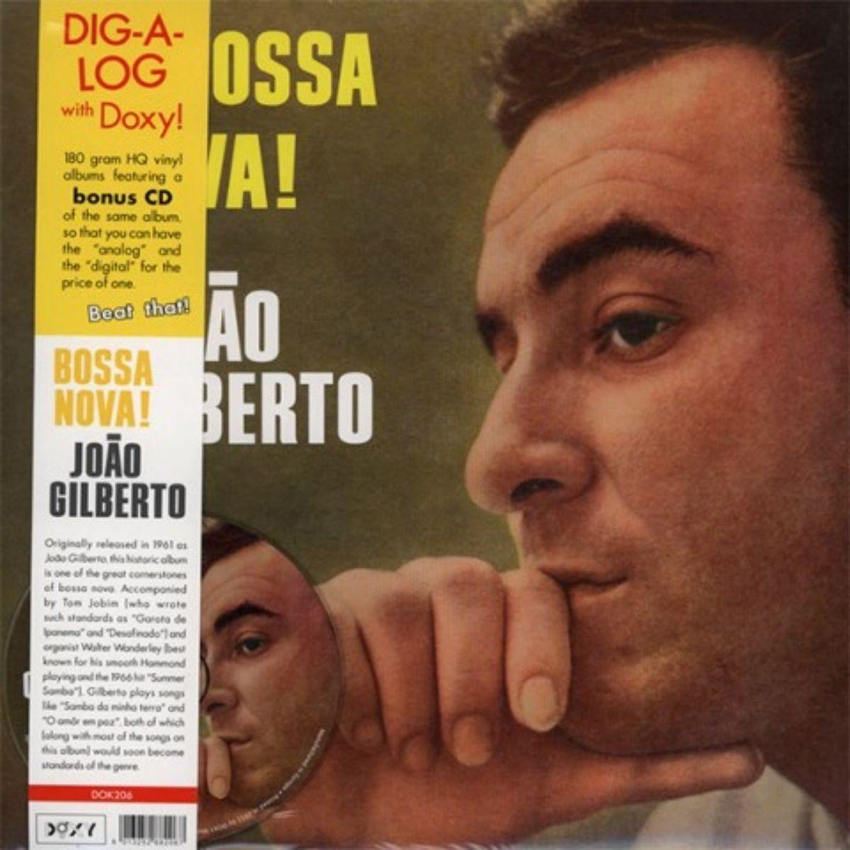 Lp João Gilberto Bossa Nova! + Cd Novo Lacrado 180 Gram