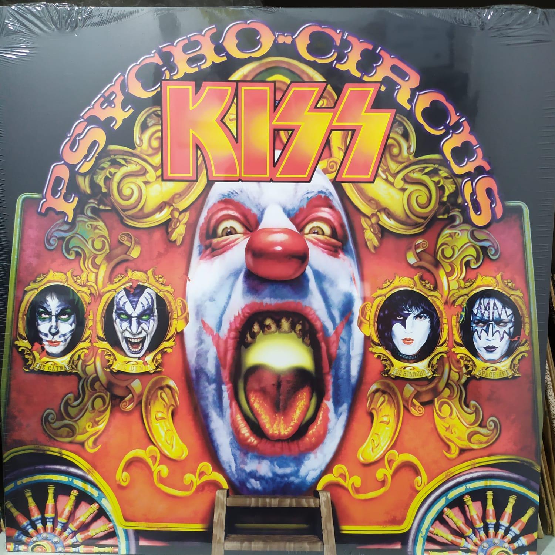 Lp Kiss Psycho Circus 180g Capa Não Holográfica