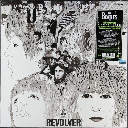 LP The Beatles Revolver 180g LP