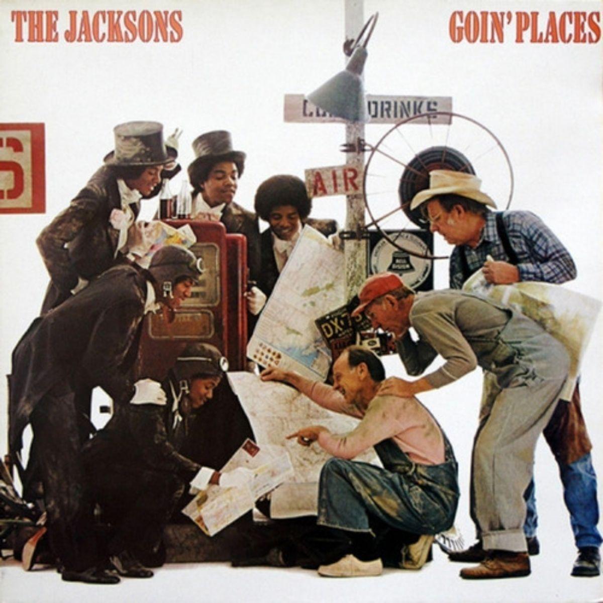 Lp The Jacksons Goin´places Novo Lacrado