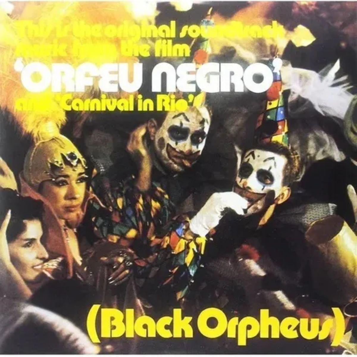 Lp Tom Jobim Orfeu Negro Novo Lacrado 180g Colored Vinyl