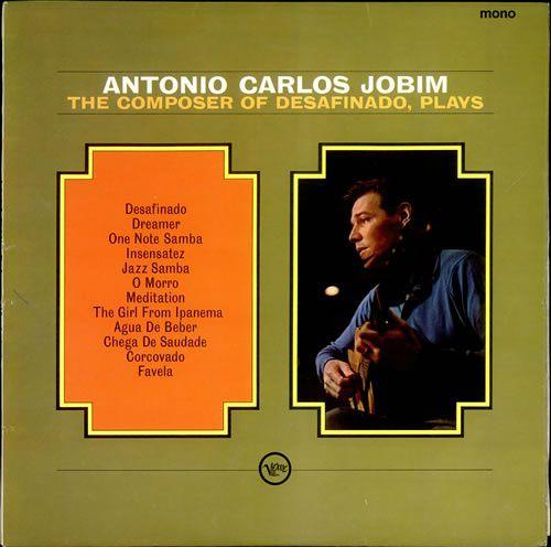 Lp Tom Jobim The Composer Of Desafinado Plays Lacrado 180g