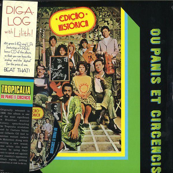 Lp Tropicalia Ou Panis Et Circencis 180gr Re 2008 + CD