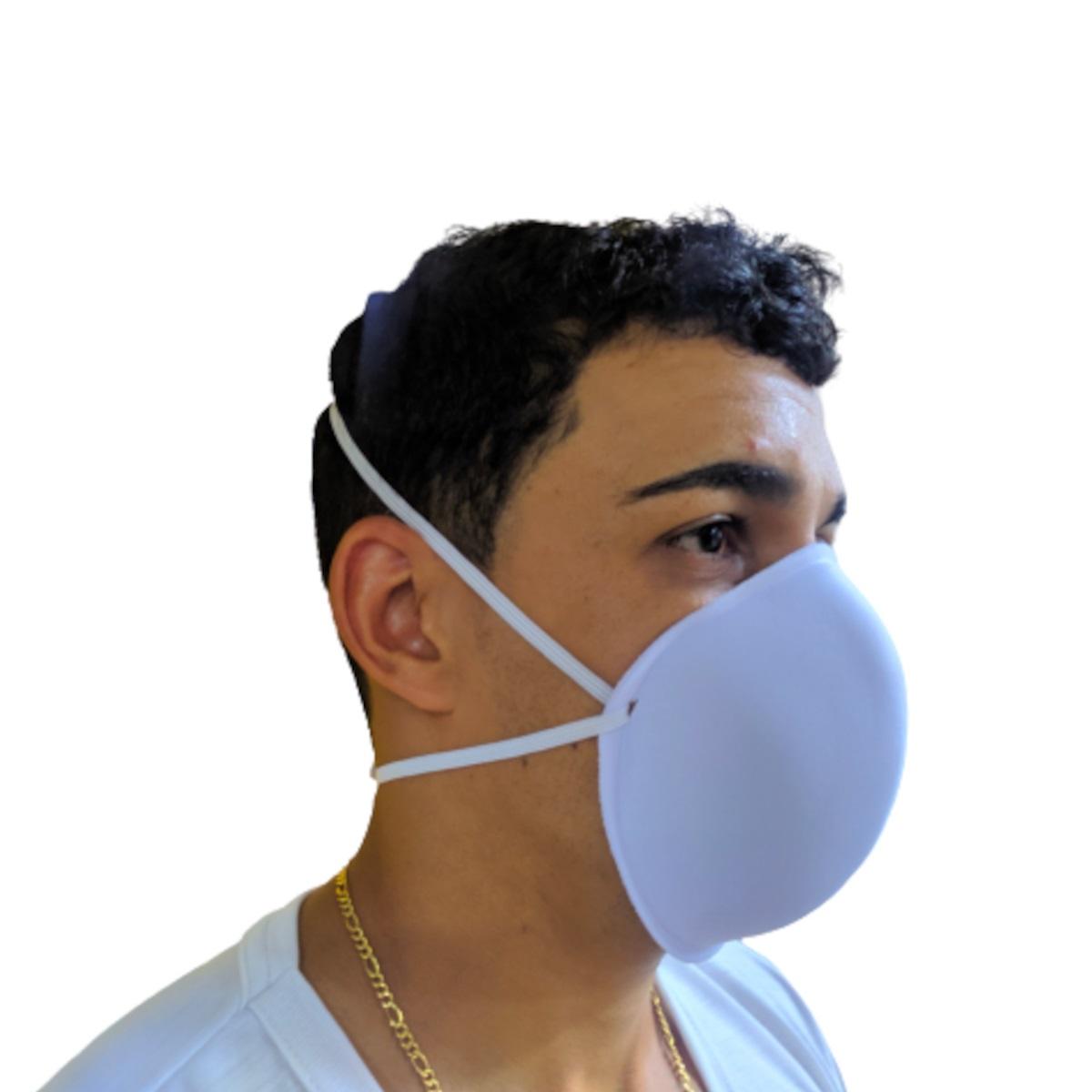 Máscara De Proteção Antiviral Lavável NZ1 cx com 6 Peças