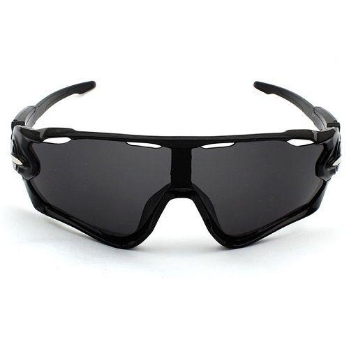 Óculos Ciclismo Bike MTB 9270 Esportes Uv 400 Preto + Case  - Casafaz