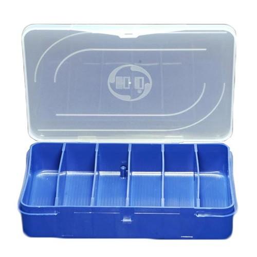 Organizador Pesca 20 x 14 x 3,8 Cm Azul ES-06H-A 6 Unidades