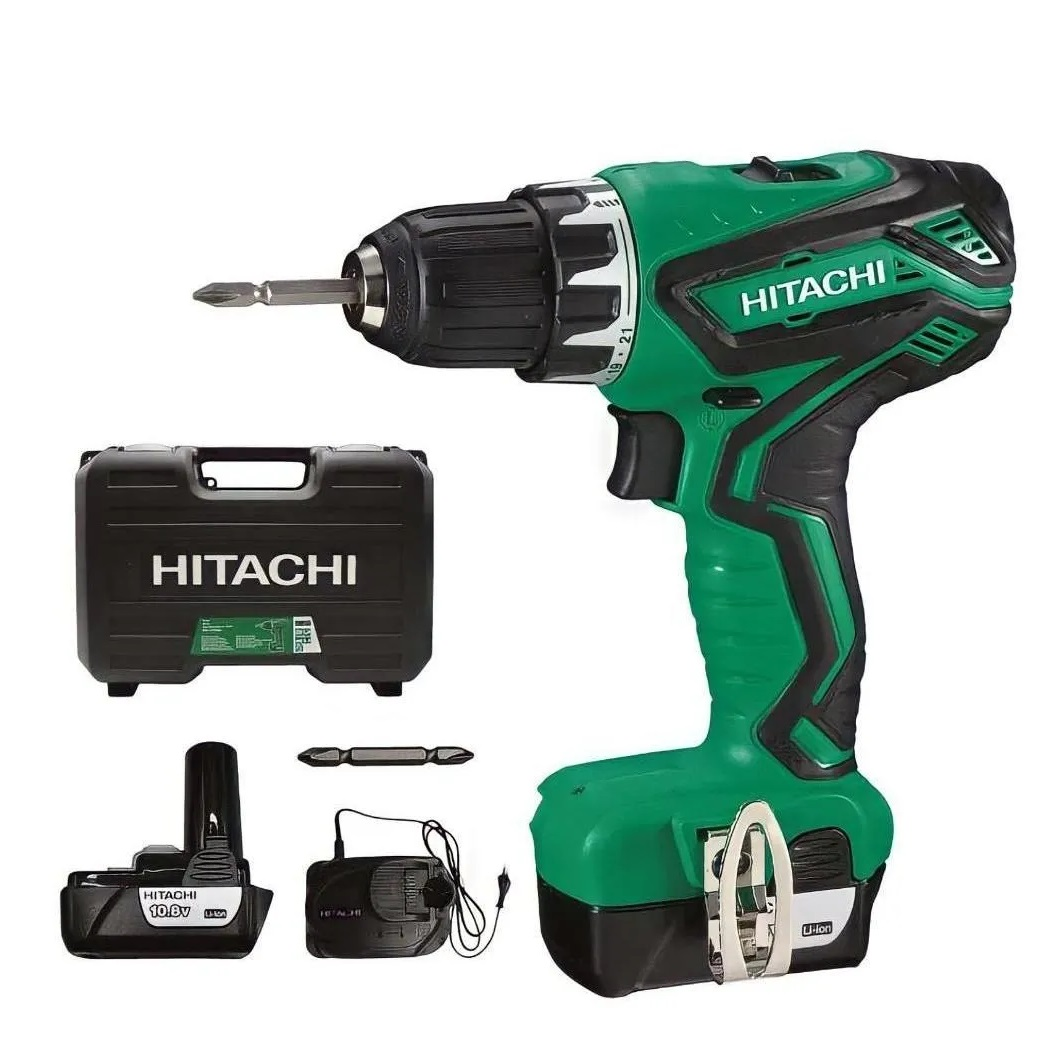Parafusadeira A Bateria Lítio 10.8V Hitachi DS10DALEC 220V