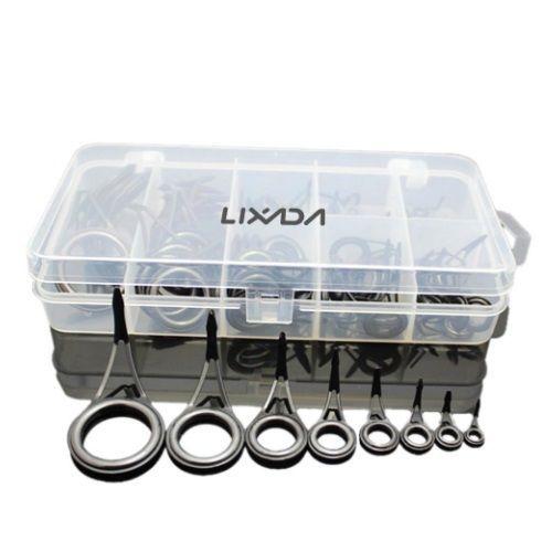 Passador BLVOG Para Vara De Pesca Kit Com 8 Unidades